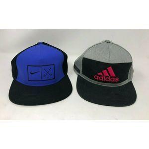 Nike Golf & Adidas Baseball Hat Lot of 2 B82